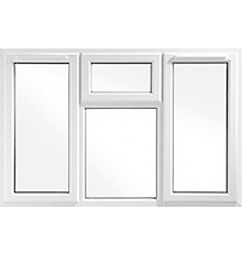 uPVC Combination Doors